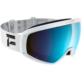 Flaxta Continuous Goggles white-blue mirror